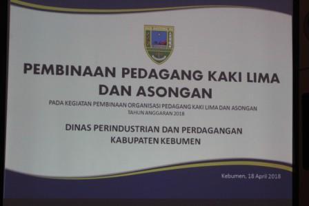 Pembinaan PKL dan Asongan